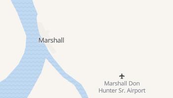 Marshall, Alaska map