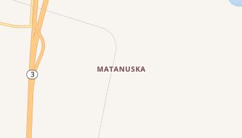 Matanuska, Alaska map