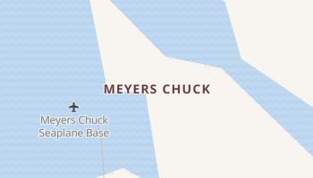 Meyers Chuck, Alaska map