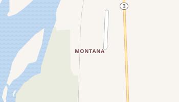 Montana, Alaska map