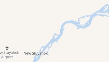New Stuyahok, Alaska map