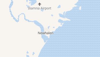 Newhalen, Alaska map