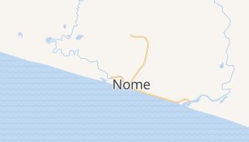 Nome, Alaska map