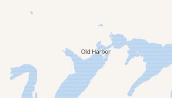 Old Harbor, Alaska map