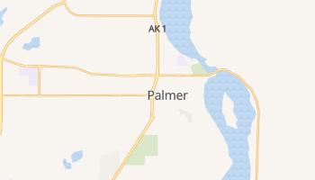 Palmer, Alaska map