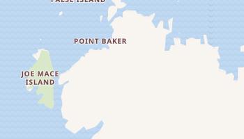 Point Baker, Alaska map