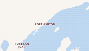 Port Ashton, Alaska map