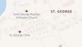 Saint George, Alaska map