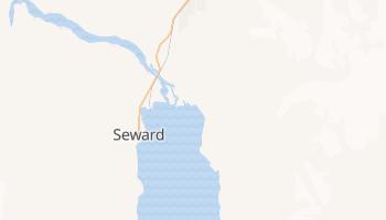 Seward, Alaska map
