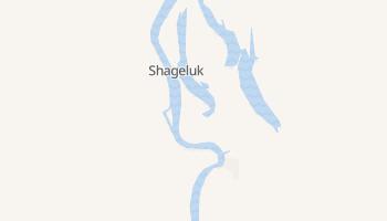 Shageluk, Alaska map