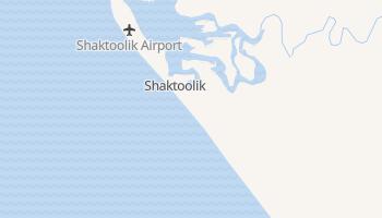 Shaktoolik, Alaska map