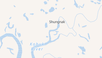 Shungnak, Alaska map
