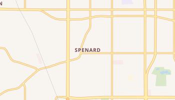 Spenard, Alaska map