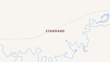 Standard, Alaska map