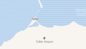 Teller, Alaska map