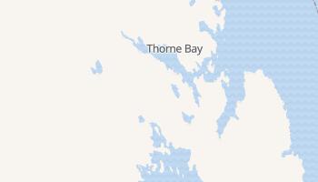 Thorne Bay, Alaska map