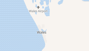 Wales, Alaska map