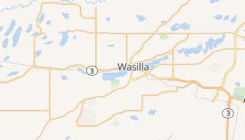 Wasilla, Alaska map