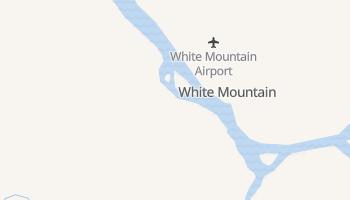 White Mountain, Alaska map