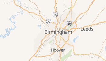 Birmingham, Alabama map