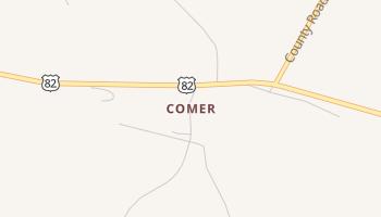 Comer, Alabama map