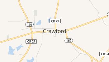 Crawford, Alabama map