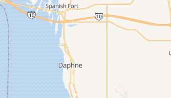 Daphne, Alabama map