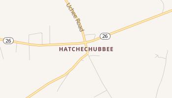 Hatchechubbee, Alabama map