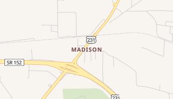 Madison, Alabama map