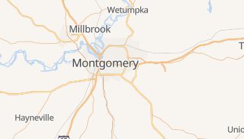 Montgomery, Alabama map
