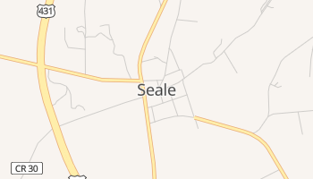 Seale, Alabama map
