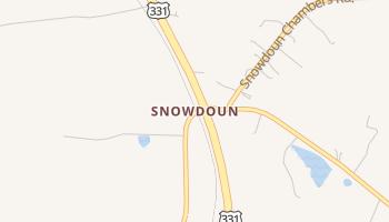 Snowdoun, Alabama map