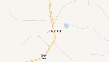 Stroud, Alabama map