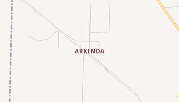 Arkinda, Arkansas map