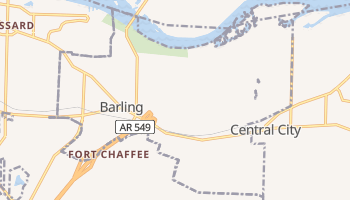 Barling, Arkansas map
