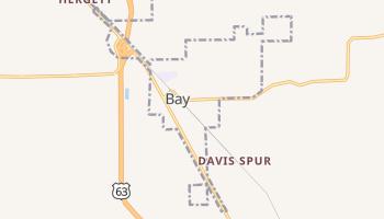 Bay, Arkansas map