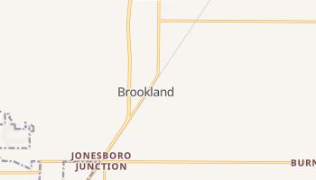 Brookland, Arkansas map