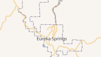 Eureka Springs, Arkansas map