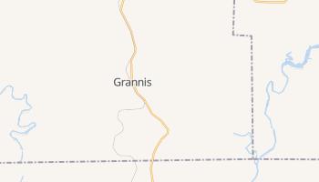 Grannis, Arkansas map