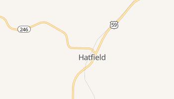 Hatfield, Arkansas map