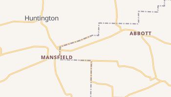 Mansfield, Arkansas map