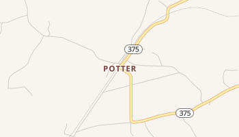 Potter, Arkansas map