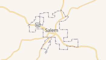 Salem, Arkansas map