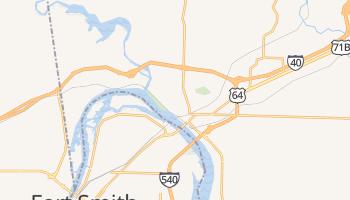 Van Buren, Arkansas map