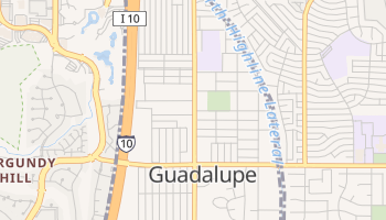 Guadalupe, Arizona map