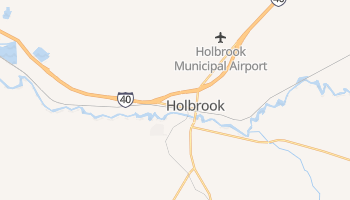 Holbrook, Arizona map