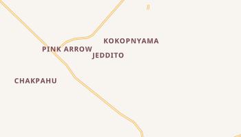 Jeddito, Arizona map