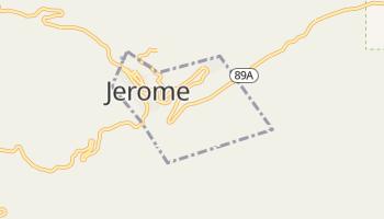 Jerome, Arizona map