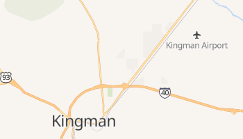 Kingman, Arizona map
