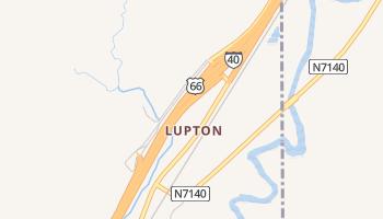 Lupton, Arizona map